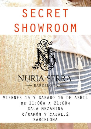 Secret showroom Nuria Serra Barcelona