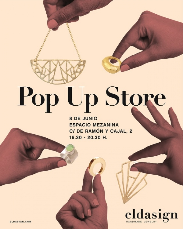 Pop Up Store Eldasign - Handmade Jewelry in Barclona